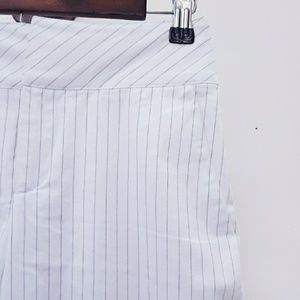 {Banana Republic} Pinstriped Pants